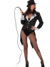 Black Ringmaster - Adult Women's Costumes